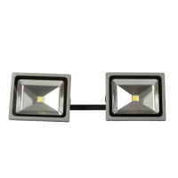 Rampe de 2 têtes LED 50W-CEBA-RAMPELED2X50DS1