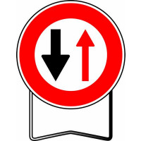 Panneau BK15 NADIA SIGNALISATION SENS DE CIRCULATION NON PRIORITAIRE - 201218