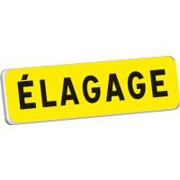 Panonceau ELAGAGE KM9 classe T1 700 x 200 SOFOP TALIAPLAST - 525309