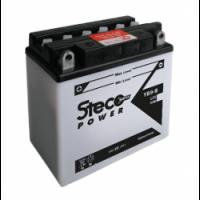 Batterie PREMIUM 12V 30Ah 280A  Polarité DROITE 183x128x170 Gamme STECO Moto - 53030 (Y60-NL-B)
