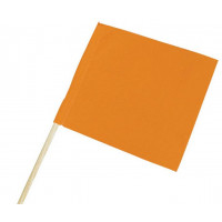FANION ORANGE FLUO 40X50CM SOFOP TALIAPLAST - 550401