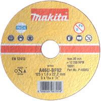 Disques à tronçonner métal et inox pour meuleuses MAKITA - B-12273 (Accessoires meuleuses)