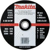 10 Disques à tronçonner métal pour meuleuses MAKITA-P-35461-10