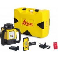 LEICA-LASER  Rugby 610 avec coffret avec batterie Li-ion et cellule de réception Rod Eye 160- 6005986