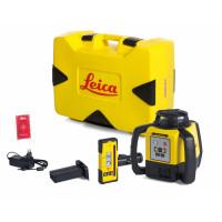 Laser LEICA Rugby 640 avec coffret avec batterie Li-ion et cellule de réception Rod Eye 140- 6005988