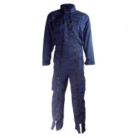 COMBINAISON DE TRAVAIL MACH2 EN POLYESTER COTON DOUBLE ZIP Bleu Marine / Bleu Roi DELTA PLUS- - M2CDZBM0
