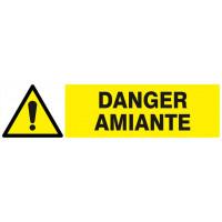 DANGER AMIANTE 200x52mm SOFOP TALIAPLAST - 620323