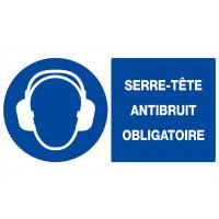 SERRE-TETE ANTIBRUIT OBLIGATOIRE 330x200mm SOFOP TALIAPLAST - 621509