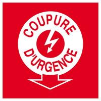 COUPURE ELECTRICITE D'URGENCE 200x200mm SOFOP TALIAPLAST - 628110