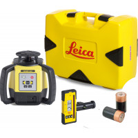 LEICA-LASER  Rugby 640 avec coffret version pile et cellule de réception Rod Eye 160- 6005989