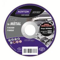 Disque de tronconnage Norton Expert Ø 230 Epaisseur 1.9 pour meuleuse d'angle- 66252832859
