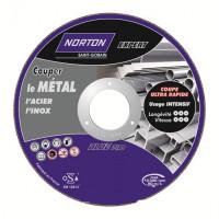 Disque de tronconnage Norton Expert Ø 125 Epaisseur 3.2 pour meuleuse d'angle-66252828493