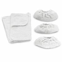 Jeu de chiffonnettes (3 bonnettes + 2 serpillères) KARCHER - 6.960-019.0