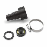 """Adaptateur 1"""" (25,4mm) / 3/4"""" (19mm) avec clapet anti-retour pour sortie G2 KARCHER - 6.997-359.0"""