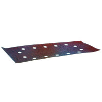 MAKITA-10 Feuilles rectangulaires abrasives 115x280 mm - 5 + 5 + 2 + 2 trous-P330090