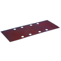 MAKITA-10 Feuilles rectangulaires abrasives 93x230 mm - 4 + 4 trous-P318370