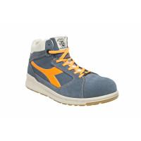Chaussure de sécurité haute DIADORA D-JUMP HI S3 SRC ESD bleu denim /orange- 172034C68250