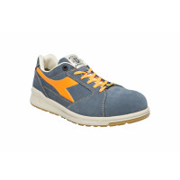 Chaussure de sécurité basse DIADORA D-JUMP LOW S3 SRC ESD Bleu denim / Orange -172035C68250