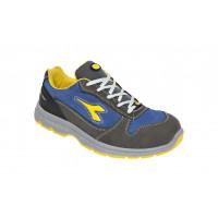 Chaussure de sécurité basse DIADORA Low RUN II S3 ESD SRC Gris Chateau/Bleu enseigne  -175303C4906