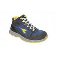 Chaussure de sécurité haute DIADORA Hi RUN II S3 ESD SRC GRIS CHATEAU/BLEU ENSEIGNE -175304C4906