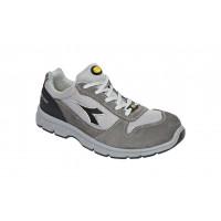 Chaussure de sécurité basse DIADORA low RUN II Textile S3 ESD SRC GRIS CHATEAU/GRIS ALUMINIUM -175305C0493