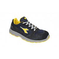 Chaussure de sécurité basse DIADORA low RUN II Textile S3 ESD SRC Bleu foncé -175305C1246
