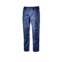 Pantalon de travail d'hiver bleu marine avec genouillères ROCK WINTER DIADORA - 171658600620