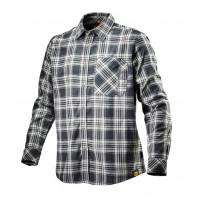 Chemise de travail à carreaux bleu blanc et noir SHIRT CHECK DIADORA -171662C7266