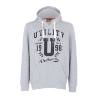 Sweat de travail gris HOOD GRAPHIC DIADORA -171665C54930