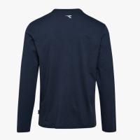 T-SHIRT manches longues DIADORA MONO ORGANIC bleu - 177667600620