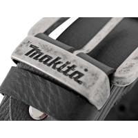 MAKITA-Ceinture en cuir noir M-P72207