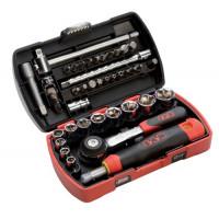 Coffret de douilles et accessoires SAM OUTILLAGE - POCKET LIGHT 1/4 - 73R39Z