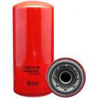 Élément filtrant pour lubrifiant à visser à passage intégral BALDWIN -B99