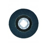 Xlock plat. lamelle bombé fibre 125 g120 BOSCH - 2608619204
