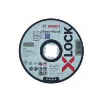 1 disque à tronçonner x-lock pour le métal expert for moyeu plat 125x1,0mm BOSCH - 2608619264