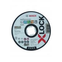 1 disque à tronçonner x-lock multi-matériaux moyeu plat 125x1,6mm BOSCH - 2608619270