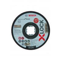 1 disque à tronçonner x-lock pour l'inox standard for moyeu plat 115x1,6mm BOSCH - 2608619362