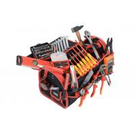 Composition d'outils électricien en valise textile 125 outils SAM OUTILLAGE - CPELEC1Z