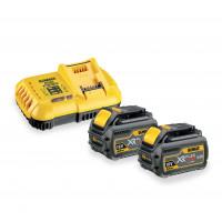 Chargeur rapide 10.8V / 14.4V / 18V - batteries de 1.3Ah à 9Ah Li-Ion DEWALT - DCB118-QW