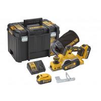 Rabot XR 18V 5Ah Li-Ion Brushless - 2 batteries - coffret TSTAK DEWALT - DCP580P2-QW