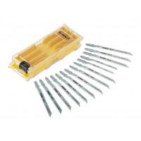 Coffret plastique de 10 lames XPC HCS BIM pour bois : DT2205x3, DT2209x3, DT2213x3, DT2216x2 , DT2217, DT2218, DT2220 + 1 boîte de rangement DEWALT - DT2298-QZ