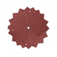 1/4 feuille abrasive pour ponceuses vibrantes grain 240 - 8 perforations 115x115mm Multi-usages Peinture / Bois - A sec DEWALT - DT3035-QZ