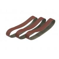 Bande abrasive pour tourets  grains pour le travail du métal, du bois et de la céramique, 45x715mm grain 80 DEWALT - DT3351-QZ