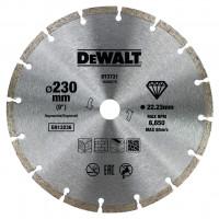 Disque fritté segmenté pour matériaux de construction/béton 230x22.2mm DEWALT - DT3731-QZ