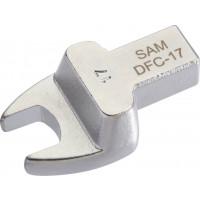 EMBOUT DYNA RECTANGLE FOURCHE DEPORTEE 30MM SAM OUTILLAGE - DFC30