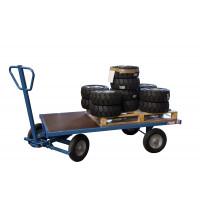 Chariot 1000 kg 1600 x 800 mm pivotant plateau nu FIMM - 800007116