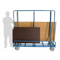 Chariot porte-baies 600 kg chargement 2 côtés FIMM - 800007296