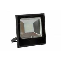 Projecteur seul fin à LED 50W avec télécommande - non câblé - 3500 lumen - 6400°K - économie d'énergie - très grande luminosité - faible dégagement de chaleur - carcasse aluminium - orientable - vitre résistante aux chocs - led de type 45 mil -CEBA-FL50T