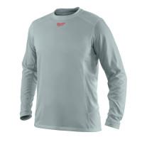 T-Shirt Respirant été (XL) - T-Shirt Manches longues, gris MILWAUKEE - 4933464196