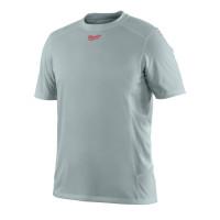 T-Shirt Respirant été (XL) - T-Shirt Manches courtes, gris MILWAUKEE - 4933464204
